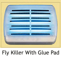 Fly Killer with Glue Pad
